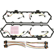 Fit 94-97 Ford 7.3L Powerstroke Valve Cover Gaskets&Injector Glow Plug Harness