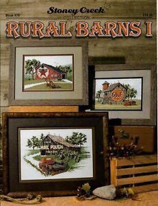 Rural Barns I by Stoney Creek BK478 pattern