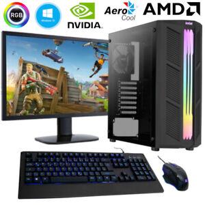 Gaming PC AMD Ryzen 5 3600, 6x 4,2 GHz - nVidia GT1030 - 16GB RAM - 512GB SSD