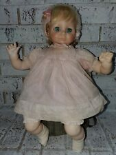 """VINTAGE 1972 MADAME ALEXANDER DOLL AMAZING CONDITION 17"""" TALL"""