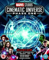 Marvel Studios Collector's Edition Box Set – Phase 1 Blu-ray [Region Free] [DVD]