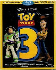 Toy Story 3 (2 Discos + DVD + Copia Digital) (Disney Bluray Nuevo)