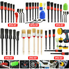 Car Detailing Brush Wash Auto Detailing Cleaning Kit Engine for Wheel Clean Set <br/> ❤️1000+Sold✅Top Product✅US STOCK✅Free 60DAY Return✅A+++