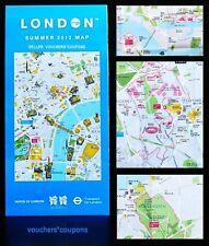 LONDON 2012 OLYMPICS - TFL - LONDON SUMMER 2012 MAP - NEW