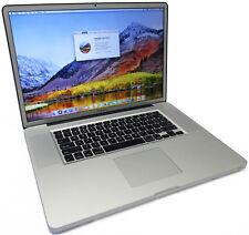 "Apple MacBook Pro 17"" Quad Core i7-2820QM 2.3GHz 750GB 8GB A1297 Early2011 Matte"