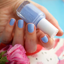Essie nail polish BIKINI SO TEENY ~ Sparkling, cornflower blue ~Buy 3 Get 1 Free