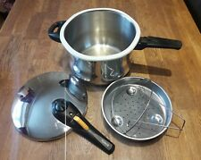 QUALITY TOWER 6 LITRE STAINLESS STEEL PRESSURE COOKER..HOME.KITCHEN,VEGETABLES