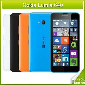 Nokia Microsoft Lumia 640 Dual SIM Windows Quad Core GPS 5in 1GB RAM 8GB ROM 8MP