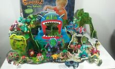 ELC Huge Rare Discontinued Swampsterz Figures & The Swamp Wooden Playset