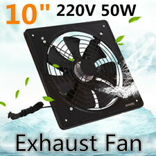 220V 50W Industrial Ventilation Extractor Metal Axial Exhaust Air Blower