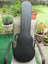 New listing High grade leather hard case for Les Paul shape Guitars