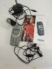 Nokia 3360 Gray (CDMA - Unknown Carrier) Cellular Phone clear back!