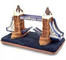 London Tower Bridge Model  Figure Ceramic British Souvenir Gift
