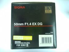 Sigma 50mm f/1.4 EX DG HSM Lens for Sony Alpha A-Mount