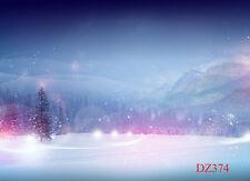 Vinyl Studio Christmas Winter Backdrop Photography Photo Background 10x8ft DZ374