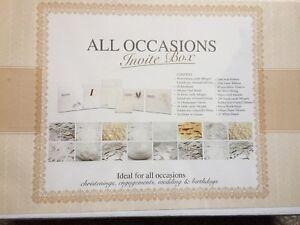 All Occasions Invite Box Weddings Birthdays Engagements Christening New