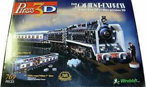 Puzz-3D The Orient Express From the 20's Brand New Factory Sealed Original 1998