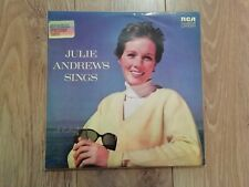 JULIE ANDREWS * JULIE ANDREWS SINGS * VINYL LP EXCELLENT ( AUSTRALIA ) CAS 7138