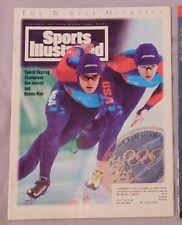 1994 Sports Illustrated Dan Jansen Bonnie Blair Speed Skater