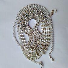 Indian Silver Tone Ethnic Kamar Bandh Wedding Waist Belt Fashion Women Jewelry