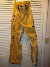 FATE ski snow board pants Yellow Size XS
