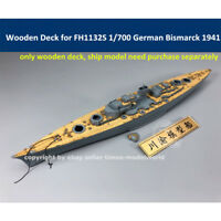 Wooden Deck for Flyhawk FH1132S 1/700 German Battleship Bismarck 1941 CY700044