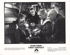 Patrick Stewart Gates McFadden Star Trek First Contact 1996 movie photo 15539