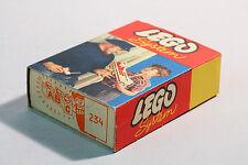 LEGO Set 234 Legosystem Bausteine Box original 60er Jahre mit Karton