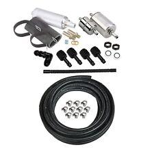 Holley EFI 526-7 Fuel System Kit Pump Hose Filter Fitting for Sniper + most EFI