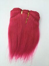 "Pink 5"" Human Hair Extensions 100g  Approx 100""-120"" Wide"