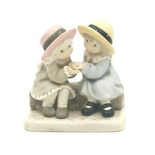 """Kim Anderson's Pretty As A Picture By Enesco Figurine """"The Ring"""" Figurine"""