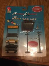 Life Like Used Car Lot Ho scale 1324