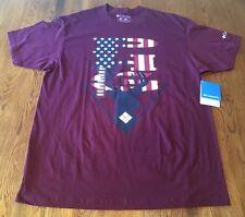 Columbia PHG Hunting Maroon 100% Cotton T-Shirt Men's Size L Large NWT!!!