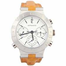 BULGARI Platinum Diagono Rattrapante Split Second Chronograph Wristwatch
