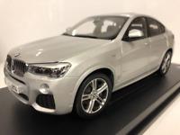 BMW X4 F26 Glaciar Plata 1:18 Escala Paragon 2352457