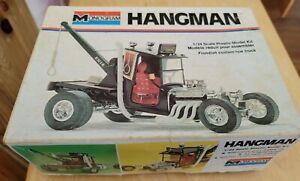 Monogram Hangman Fiendish Custom Tow Truck, 1/24, not complete, 1975, Parts