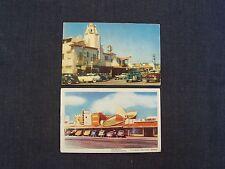 Tijuana Baja Calif postcards - Caesar's Hotel EM-15 & Big Hat El Sombrero Charro