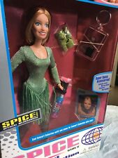 Rare Spice Girls Concert Collection Geri Halliwell Ginger Spice Doll Unopened