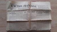 Diario Nacionalista ACCIÓN Francesa 8 Julio 1934 N º 189 ABE