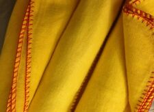 """Professional Quality Large Yellow Duster, CottonRich, PACK of 10 DUSTERS 12""""x13"""""""