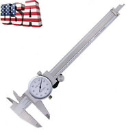 US Dial Caliper 0-6 Inch SAE Measuring Tool *3 Day Fast Free Shipping*