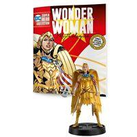 Eaglemoss DC Wonder Woman Mythology Gold Armour 5 Inch Figure NEW IN STOCK