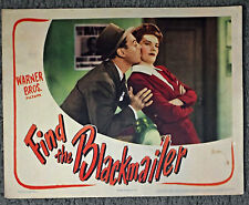 FIND THE BLACKMAILER original 1943 lobby card poster JEROME COWAN/FAYE EMERSON