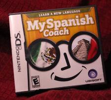 My Spanish Coach Nintendo DS Complete CIB Ubisoft