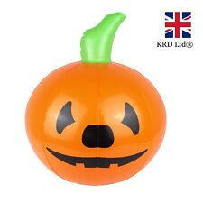 HALLOWEEN INFLATABLE PUMPKIN Blow Up Toy Spooky Scary Party Decoration 35cm UK