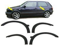 Parafango Passaruote 4 archi in plastica stampata nera per VW Golf 3 91-97