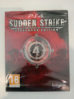 sudden strike 4 IV edition steelbook  ps4 ps 4 playstation neuf UK