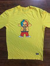 Grizzly Griptape X Tekashi69 6IX9INE Yellow Long Sleeve Shirt Size Small 69