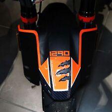 Adesivo 3D Protezione Parafango compatibile con KTM 1290 Super Adventure S 2021