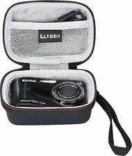 LTGEM for Kodak PIXPRO Friendly Zoom FZ43 16 MP Digital Camera Hard Storage Bag